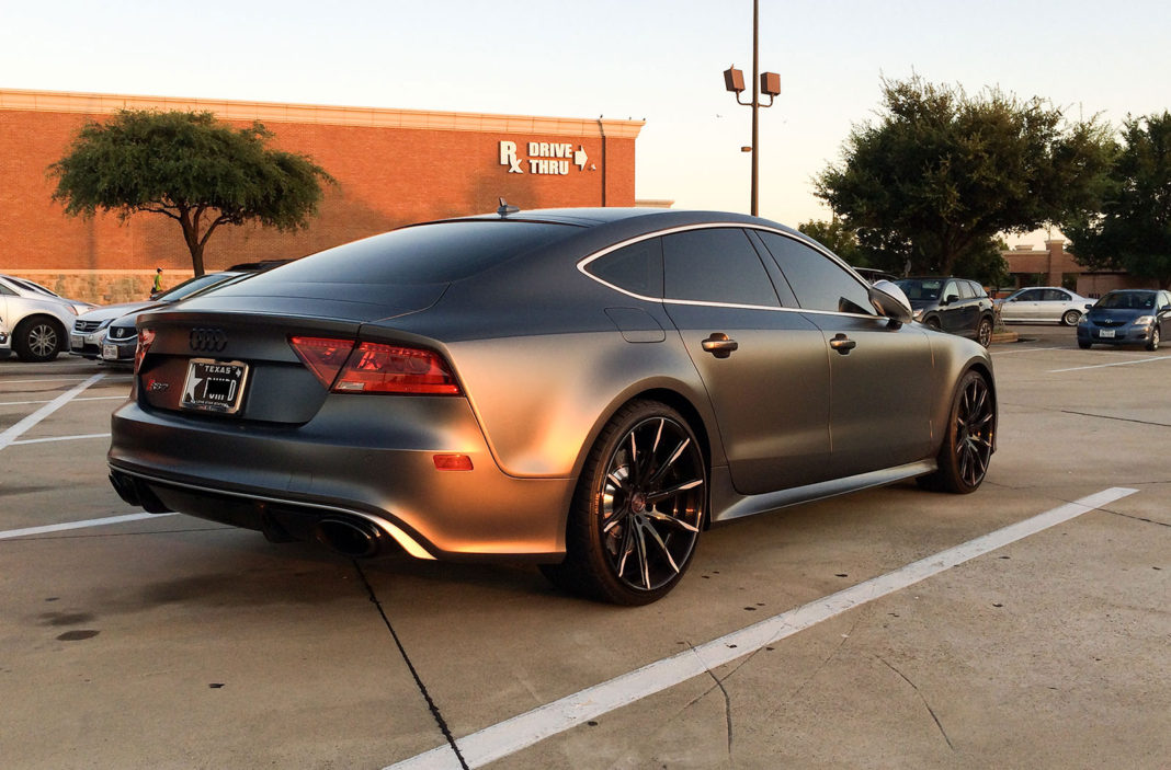 Audi RS7 Daytona Gray Matte